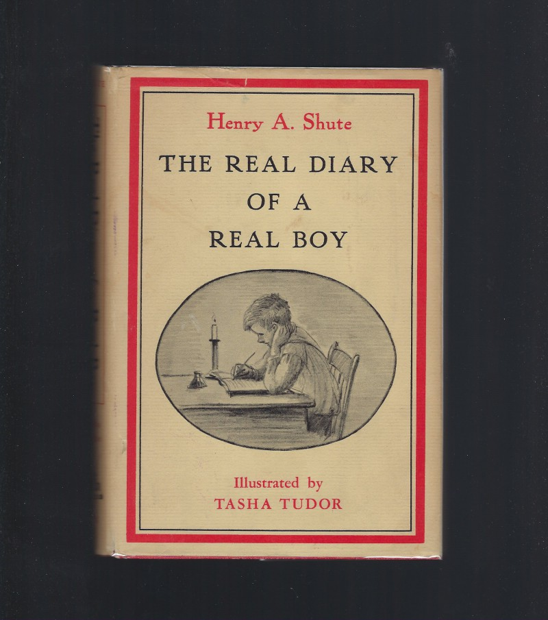 Image for The Real Diary of a Real Boy Illustrations by Tasha Tudor 1967 HB/DJ