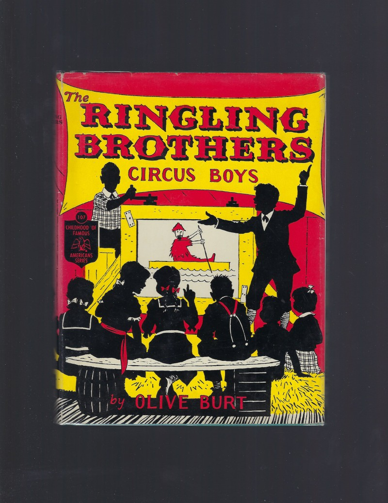 Image for The Ringling Brothers Circus Boys 1st Ed Childhood of Famous Americans 1958 HB