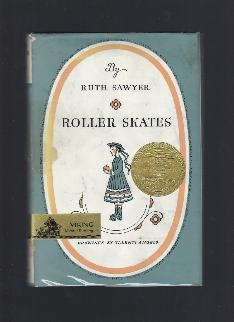 Image for Roller Skates by Ruth Sawyer HB/DJ 1965