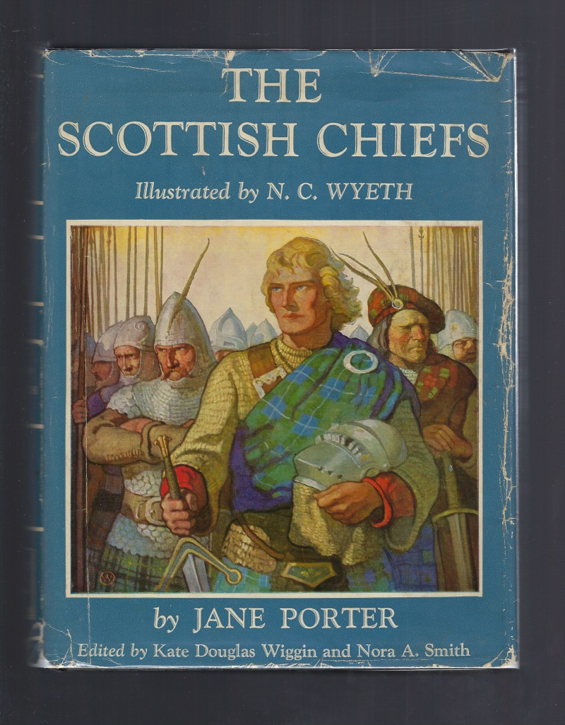 Image for The Scottish Chiefs N. C. Wyeth 1955 HB/DJ