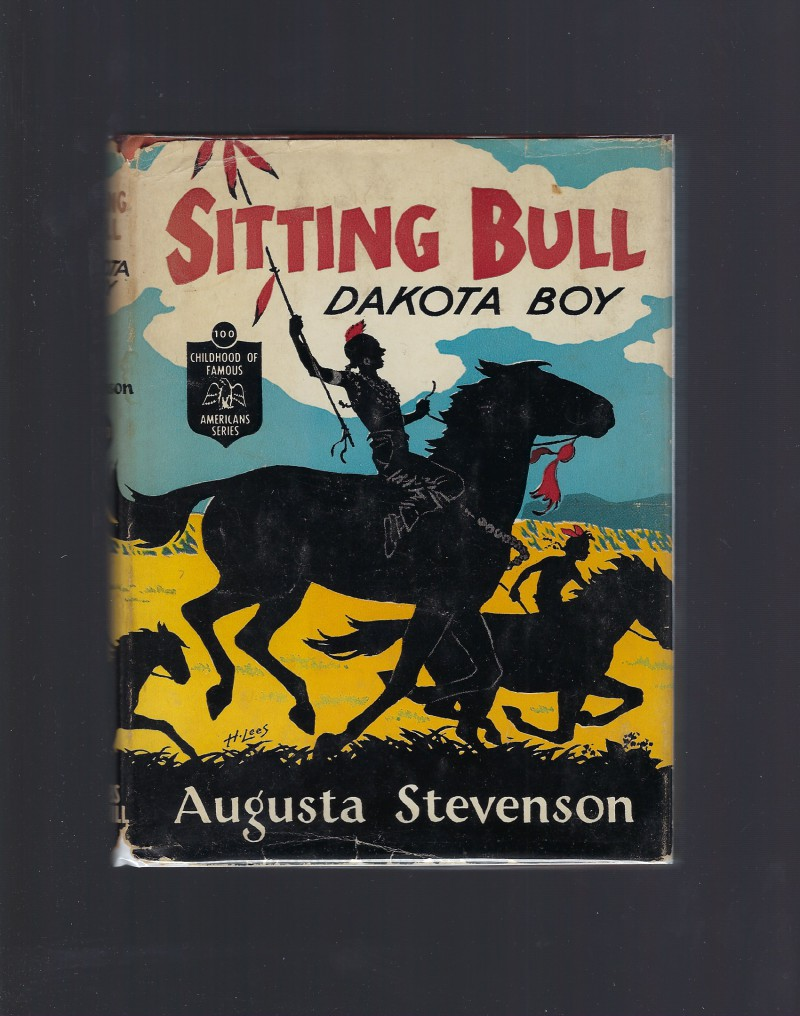 Image for Sitting Bull Dakota Boy Childhood of Famous Americans HB/DJ 1956