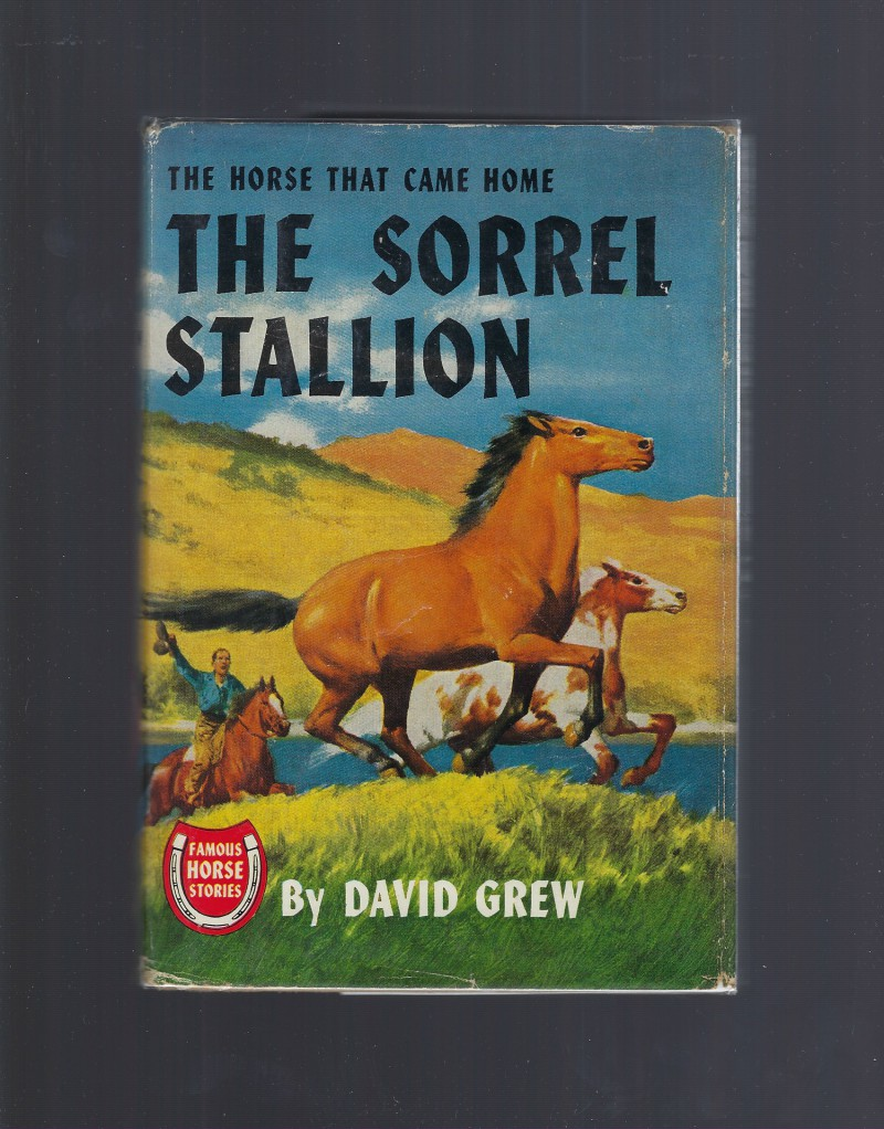 Image for The Sorrel Stallion Famous Horse Stories HB/DJ David Grew