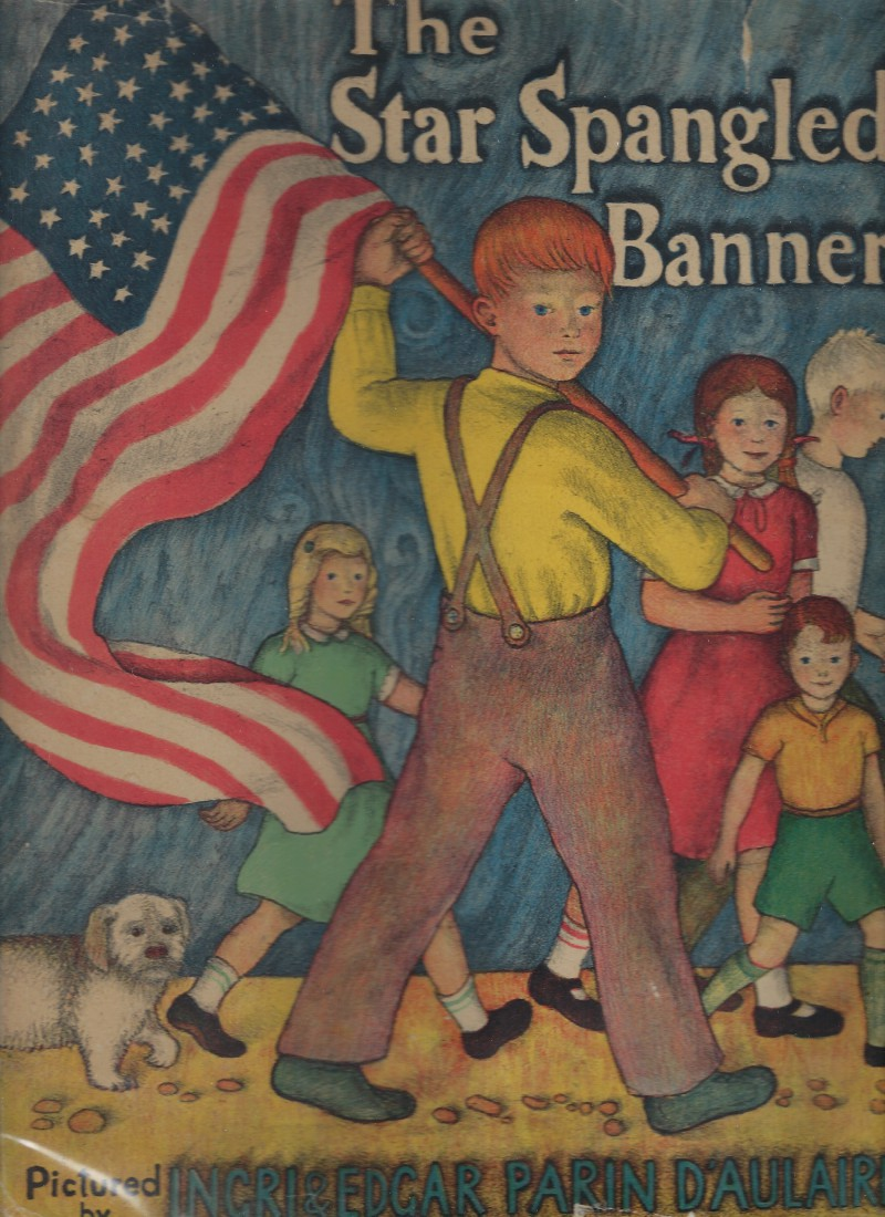 Image for The Star Spangled Banner First Edition D'Aulaire 1942 HB/DJ