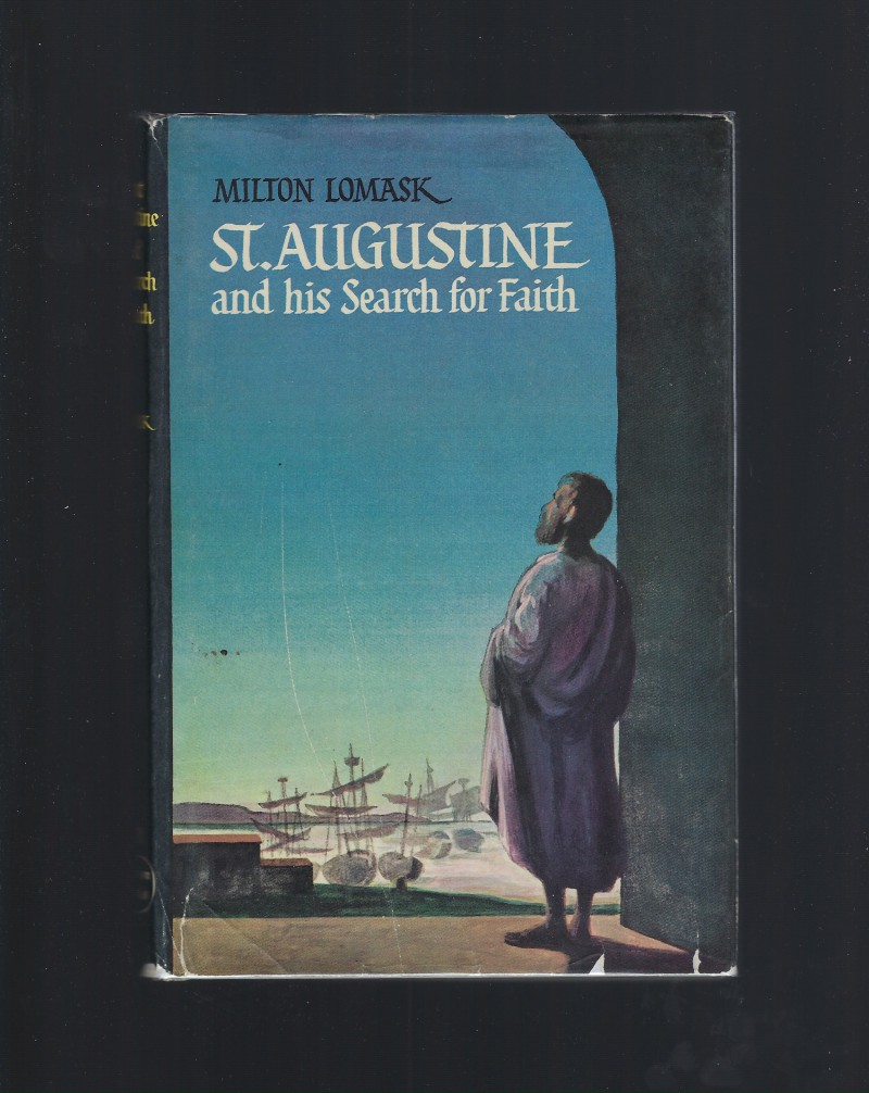 Image for St. Augustine and His Search for Faith #21 Vision Books Catholic HB/DJ