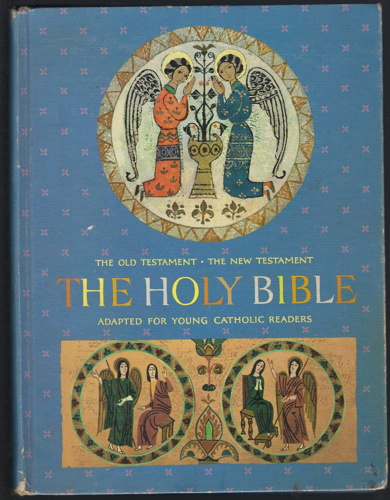 Image for The Holy Bible The Old Testament and New Adapted for Young Catholic Readers