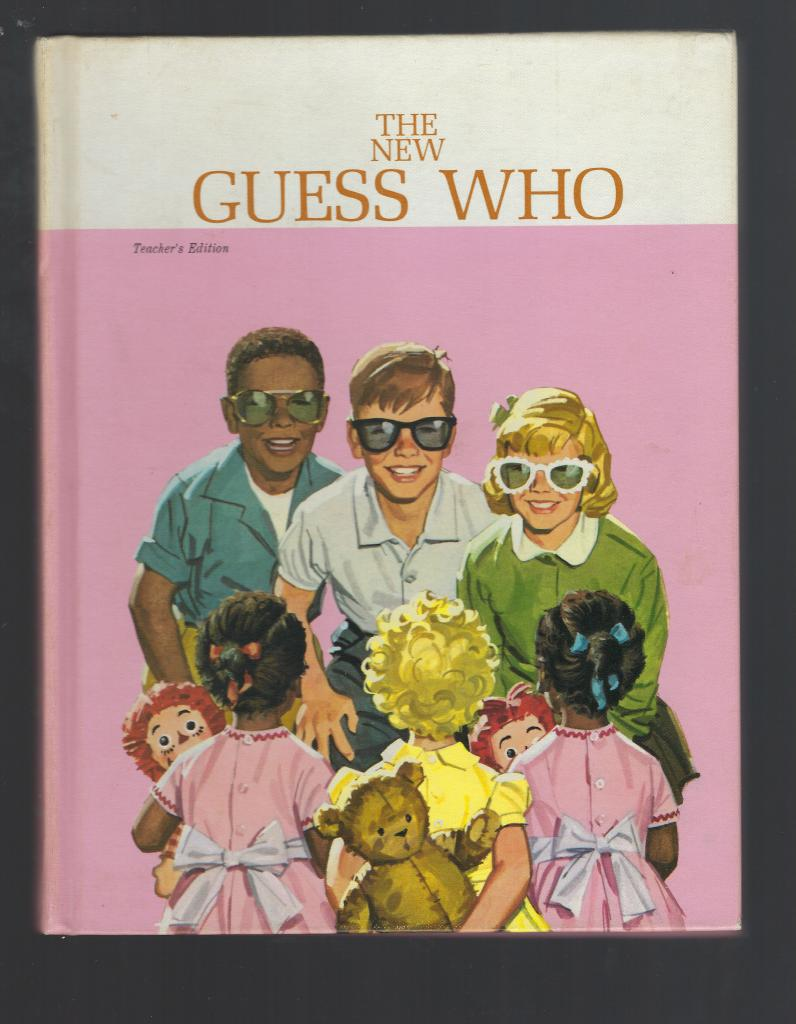 Image for The New Guess Who Teacher's Edition 1965 Ethnic Ed 1st Print!