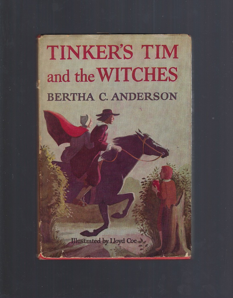 Image for Tinker?s Tim and the Witches 1st Edition by Bertha C. Anderson 1953 HB/DJ