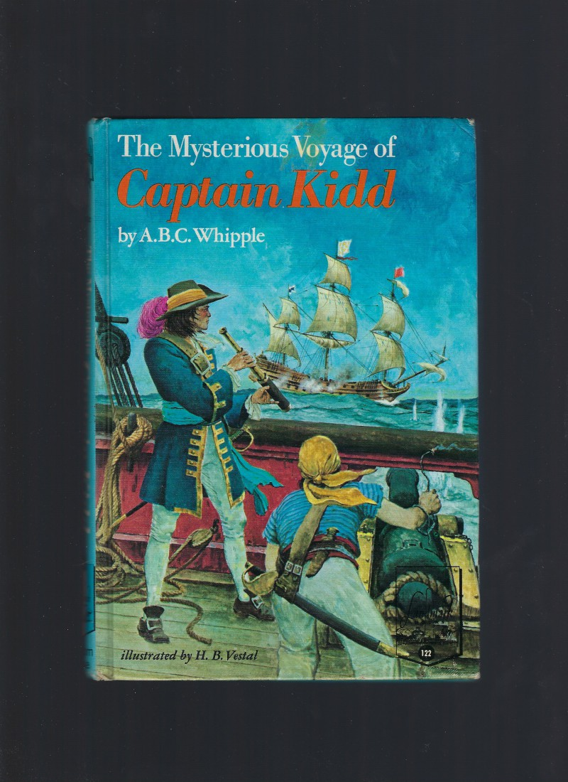 Image for The Mysterious Voyage of Captain Kidd #122 Landmark RARE
