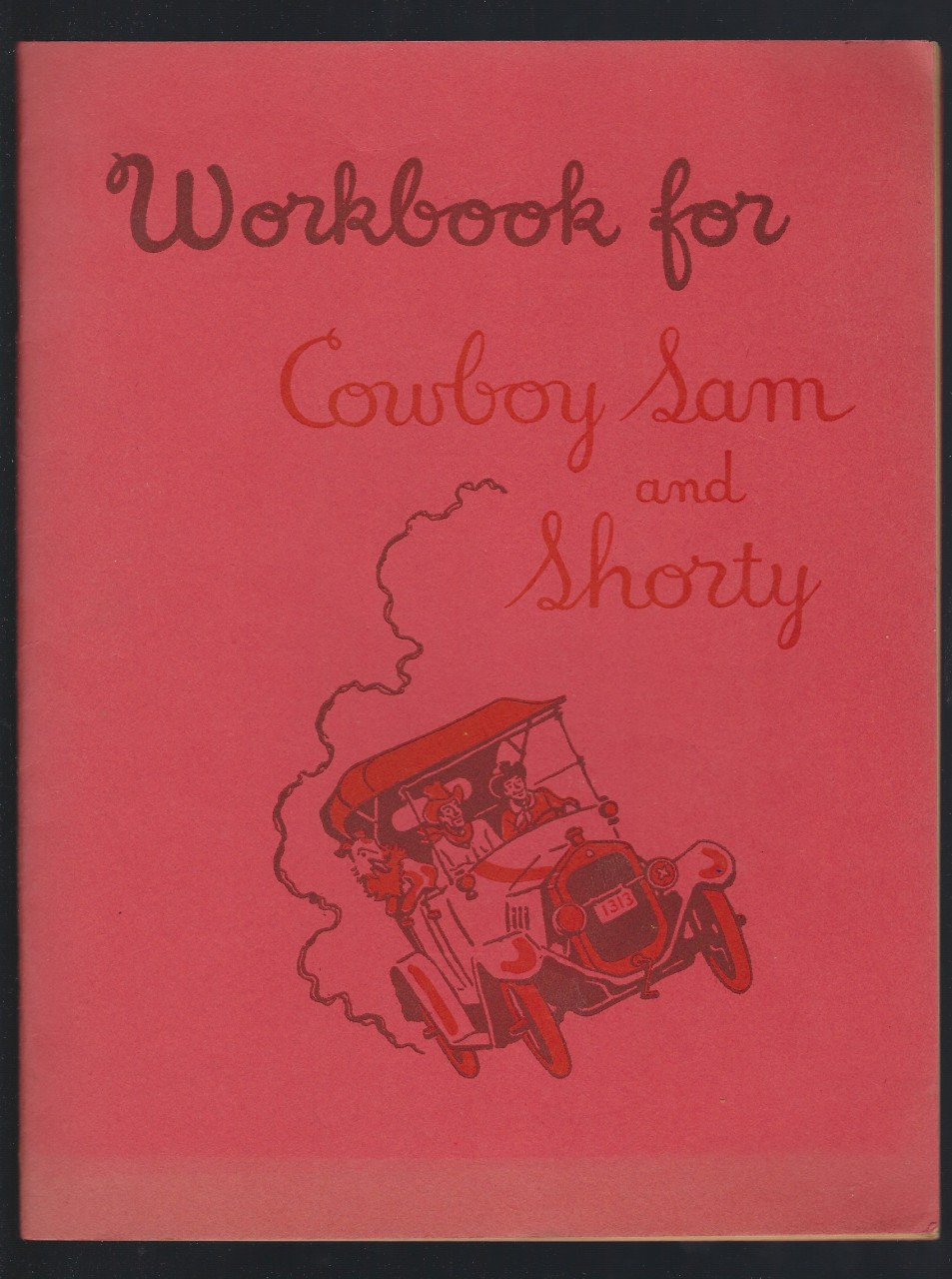 Image for Workbook for Cowboy Sam and Shorty 1956